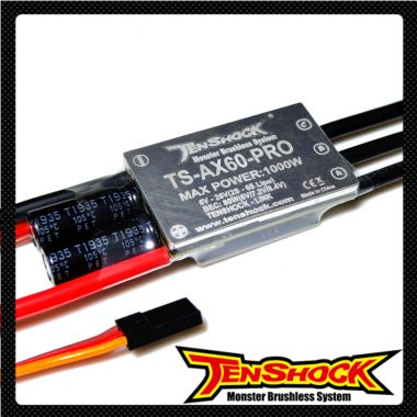 TS-AX60-PRO BRUSHLESS ELECTRONIC CONTROLLER
