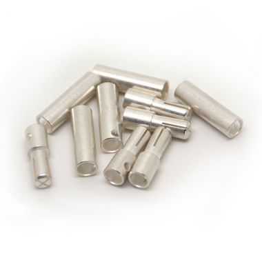 4.0mm silver connector